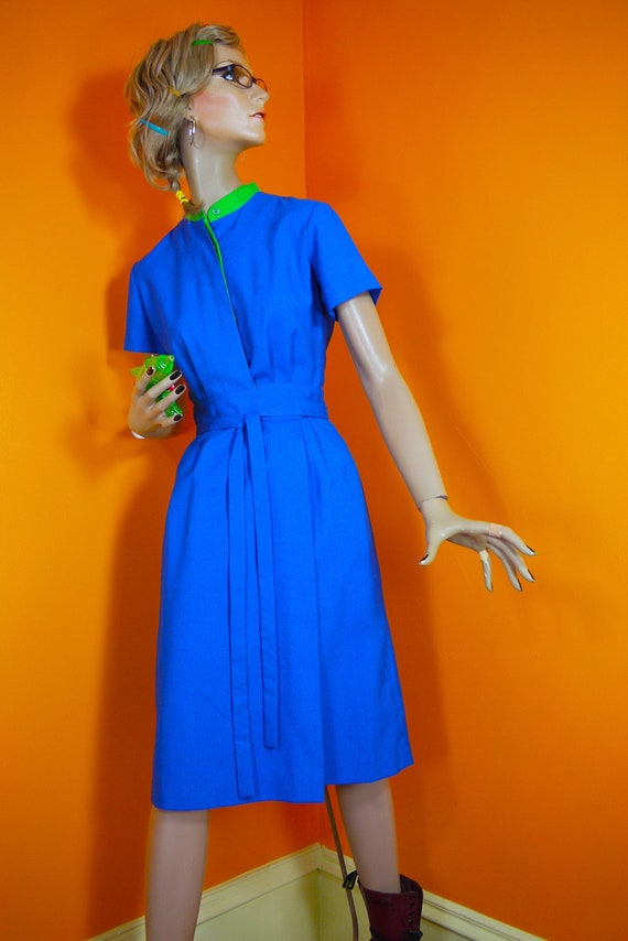 70s Lanz Original Wrap Around Dress 1970s (s)