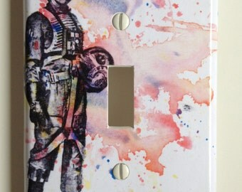 Luke Skywalker Star Wars Art Decorative Light Switch Plate Cover