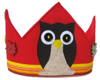 Hoots the Owl Crown