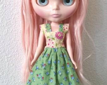Blythe Doll Dress Buttercup Gardens