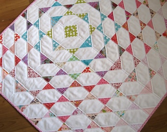 Disappearing Scraps Quilt Pattern