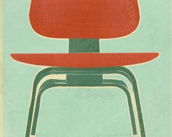 Eames Chair - fine art pigment print