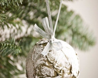 Natural Christmas Ornaments - Frosty Ornaments -  Natural Christmas Decoration