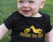 Born to Ride Motorcycle Bodysuit (Great for New Dad)