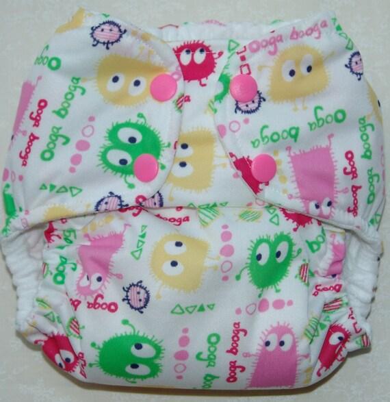 Spring ooga booga fabric cut