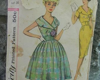 Vintage Simplicity Dress Pattern