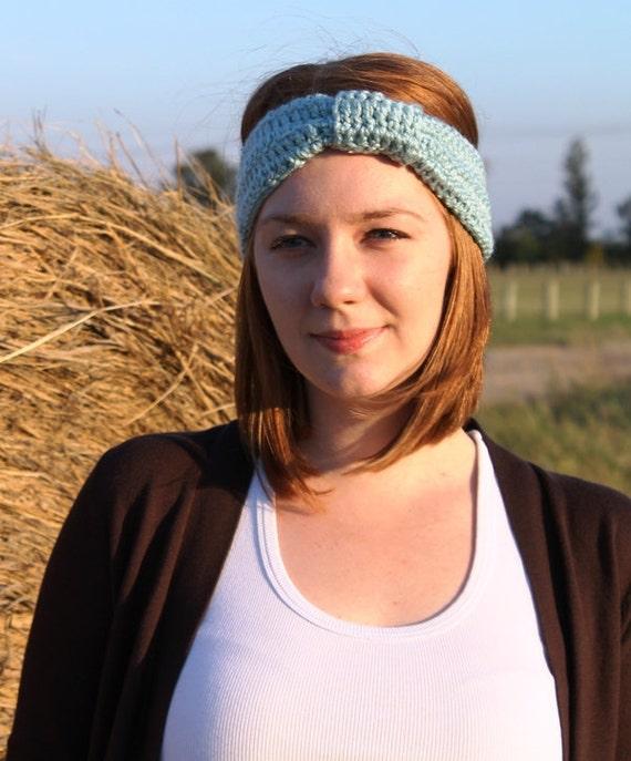 Crochet Turban. Turban Headband. Crochet Earwarmer. Turband. Vintage Headband. Retro Headband. Custom Order.