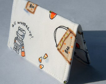 Card Wallet - Trick or Treat, Kids in Costume- business card, credit card, gift card holder Halloween