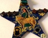 Handmade Ceridwen Moon Mother Goddess Shape Shifter Avalon Celtic Poet Muse Star