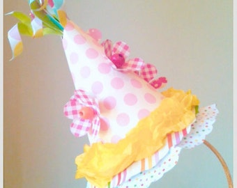 Made To Order Paper Mache Party Hat Headband