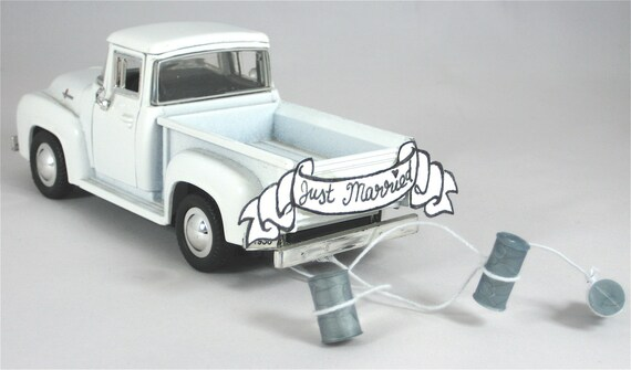 ford truck wedding cake topper cake topper 1956 ford up getaway truck 14404
