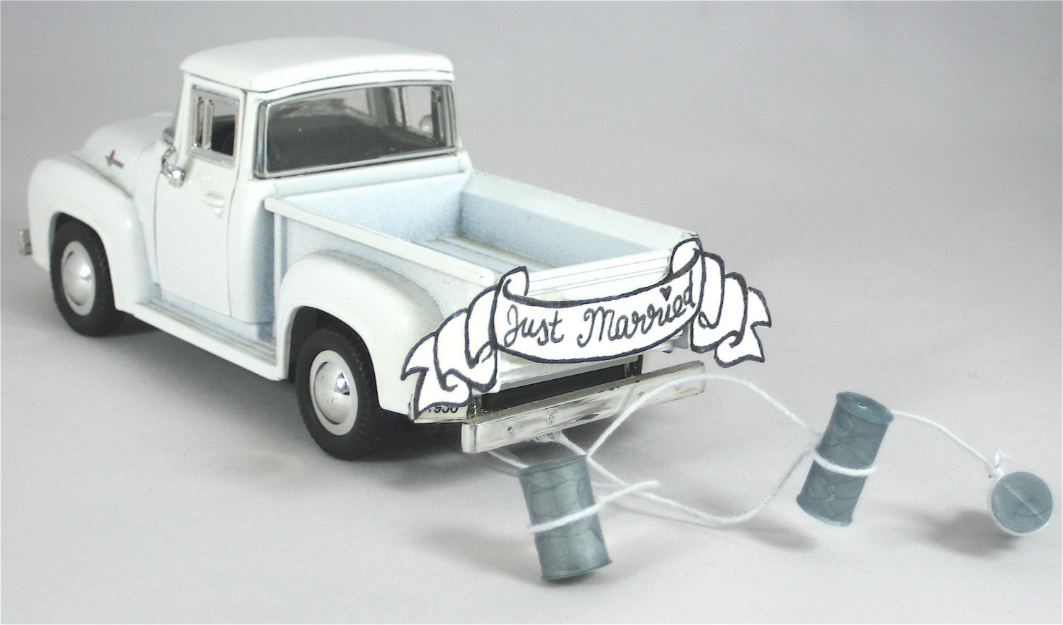 wedding cake topper with truck cake topper 1956 ford up getaway truck 26664