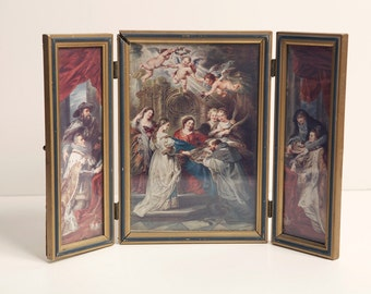 Framed Art Print Italian Vintage