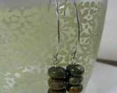 Rhyolite Drops - Handmade Jewelry, Natural Stone