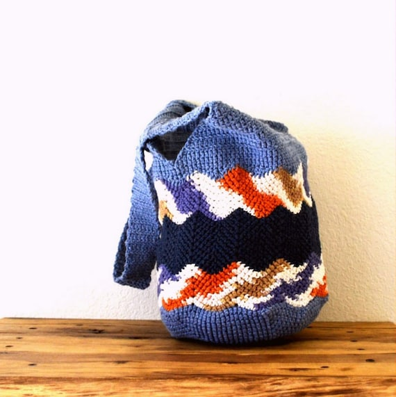 Crochet Bucket Bag Pattern : Crochet Bag Pattern Shopping Market Bucket Beach Tote Pattern Chevron ...