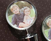 Wine Bottle Topper - Personalized Photo Gift