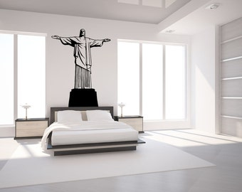 Vinyl Wall Decal Sticker Cristo Redentor OSMB558m