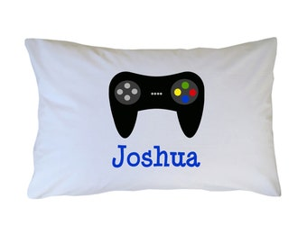 Video Game Controller Pillow Case Personalized Pillowcase