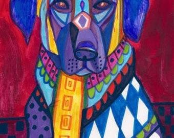 60% Off- Anatolian Shepherd Art Dog  Art Print Poster by Heather Galler (HG129)