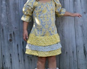 INSTANT DOWNLOAD- Maggie Dress (Sizes 12/18 months to 8) PDF Sewing Pattern and Tutorial