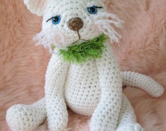 Crochet Pattern Cute Kitty Cat by Teri Crews instant download PDF format