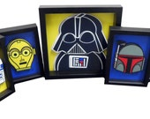 RESERVED for Lisa Nagler Star Wars Art Darth Vader Yoda R2D2 C3PO Boba Fett Storm Trooper 10x10 inches