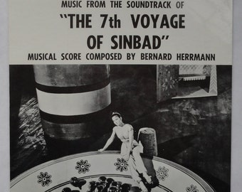 "Rare ""The 7th Voyage of Sinbad"" Vinyl Soundtrack (1959) - Sealed"