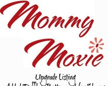 UPGRADE to Mommy Moxie Maternity Labor and Delivery Gowns -Ruffles to Sleeves and or Bottom- Deliver in Style