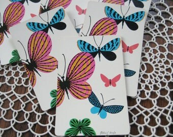6 Butterfly Vintage Playing Cards