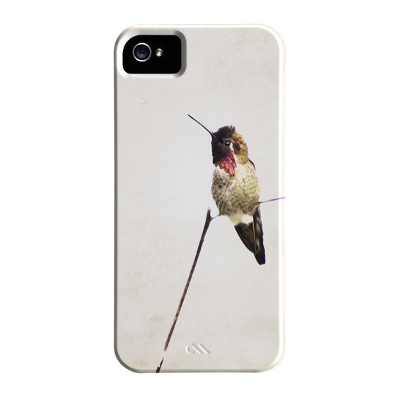 CLEARANCE, iPhone 5 Case, LAST ONE Hummingbird Case, Minimalist, Under 40., Sale, Discounted iPhone Case