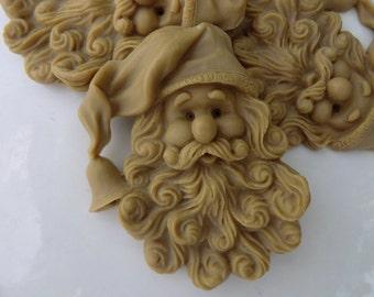 10 Santa Soap - stocking stuffer for kids, Christmas gift, sotcking for teen