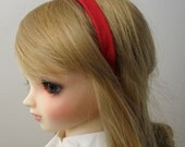 Red Headband for BJD, Dollfie Dream, Pullip and Blythe