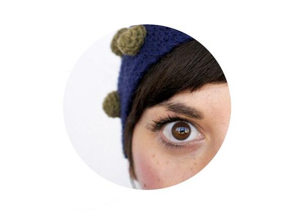 crochet beanie - fun wool hat - Sample item