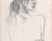 Profile - art prints, cards