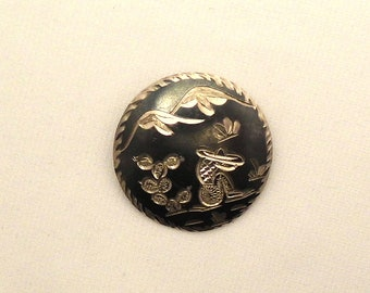 Sterling Silver MEXICO 925 Handcrafted Brooch and or Pendant