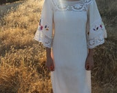 Last Years Antlers Vintage Wedding Dress - silkwormvintage