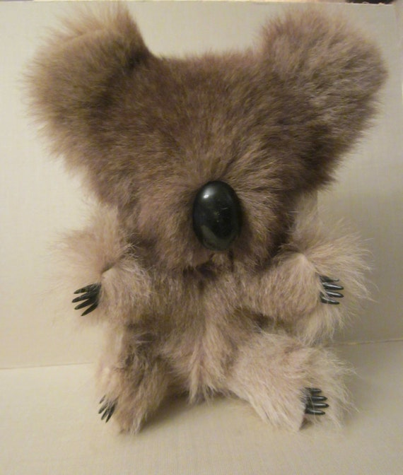 Rare Billabong Kangaroo Fur Koala with Original by ...
