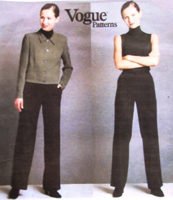 Vogue American Designer 2024 Womens Jacket Pants Pattern