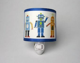 Robot Nightlight Blue