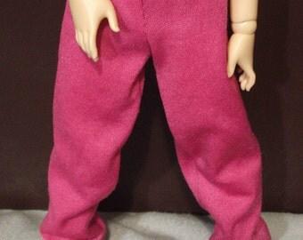 45cm MSD BJD Pink Sweatpants