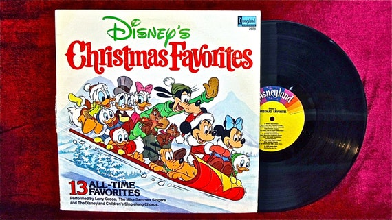 Christmas Walt Disney Christmas Favorites 1979 Vintage