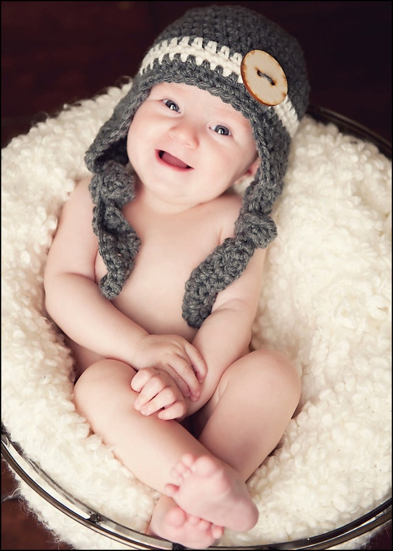 Kaden Ear Flap Hat Crochet Pattern (286)