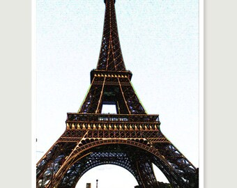 France photography, Paris, France, The tower is king, 8x10 matte print