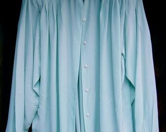 SALE: Vintage 1980s Marc D'Alcy Designer Silk Blouse & Liz Claiborne pants