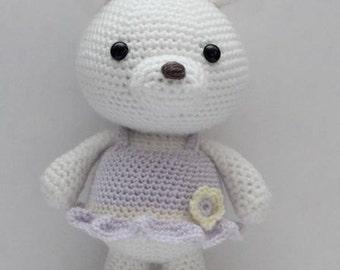 Amigurumi Crochet Pattern - Lavender Bunny