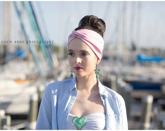 SPECIAL PRICE! Turban headwrap,perfect for workout,  Stretchy  Fashion, all day comfort women's hippie, indie, Headband hair band