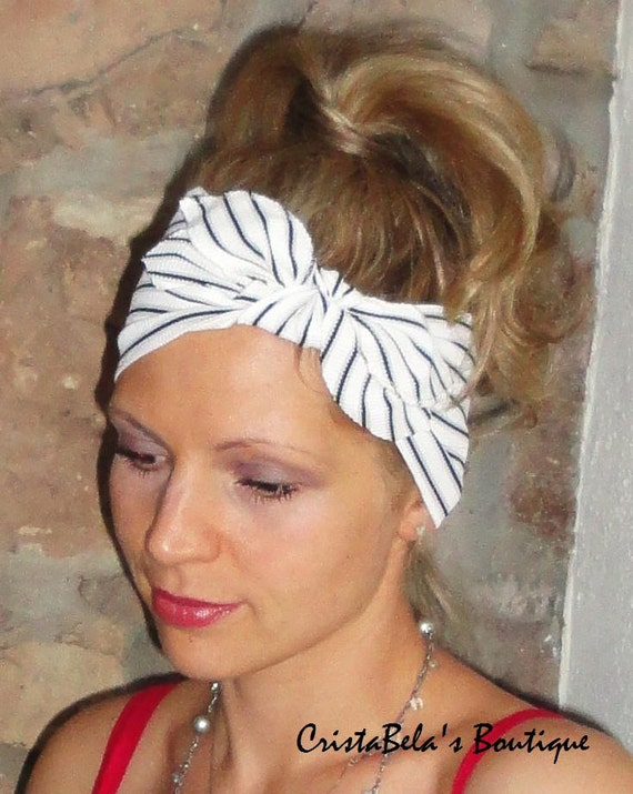 Last one Wide Stretchy  Fashion, all day comfort woman's Retro Headband hair band  turban head wrap
