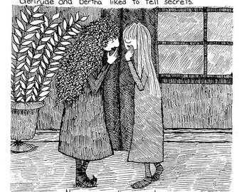Secrets (6x9 Print)
