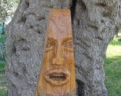 The Wedge, Olive Wood Sculpture