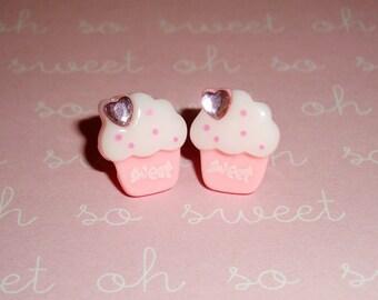 Sweet Little Cupcake Earrings